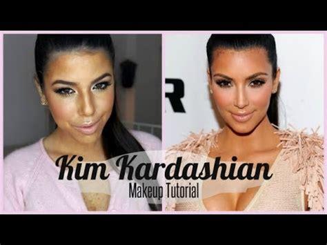 youtube tutorial kim kardashian kim kardashian makeup tutorial איפור בהשראת קים קרדשיאן