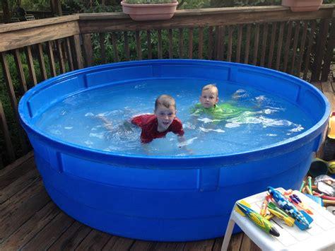 wading pool for backyard design ideas