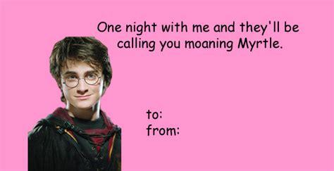 harry potter valentines meme 18 pop culture s day cards you shouldn t send