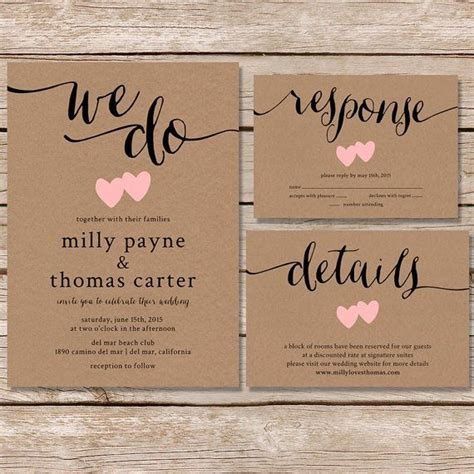wedding invitation ideas with photos wedding invitations rustic best photos wedding ideas