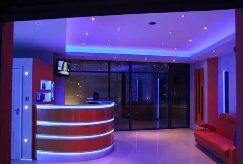 led light strips for homes blue and white led light can create this amazing atmosphere led valaistus led lighting