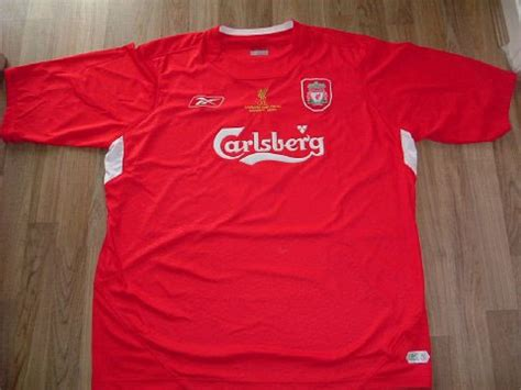 Jersey Liverpool Away 20042005 Sleeve liverpool kits evolution 1960 2006 pictures saturated no click in for up