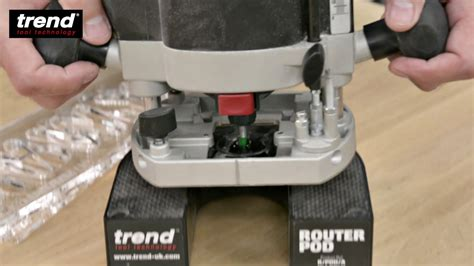 trend woodworking router pod youtube