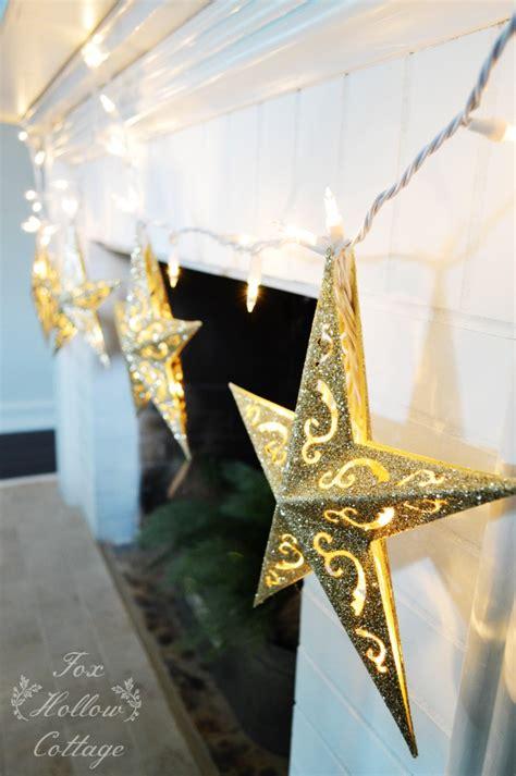 diy dollar tree christmas ornament lights fox hollow cottage