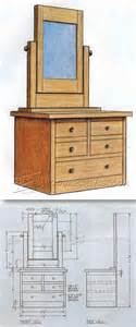 Vanity Chair Plans Best 25 Dresser Plans Ideas On