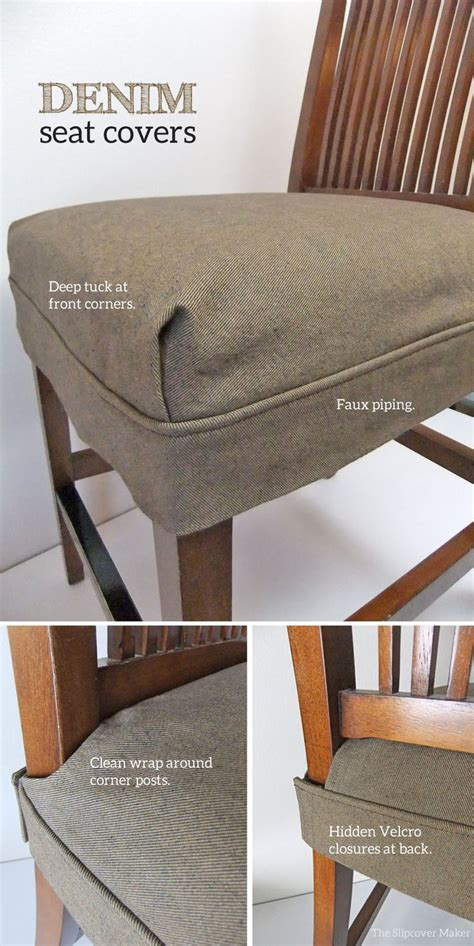 How To Cover Dining Room Chair Cushions Best 25 Chair Seat Covers Ideas On Dining Room Chair Cushions Refurbished Dining