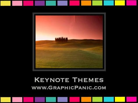 keynote church themes colorful border keynote themes powerpoint background
