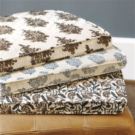 Quilted Chair Pads by Quilted Chair Cushion Cover With Insert From Ballard