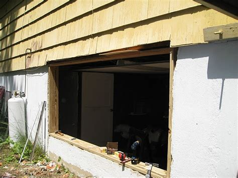 Residential Bedroom Window Egress Egress Window Installation How To Build A House