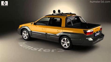subaru baja subaru baja 2002 3d model by humster3d com
