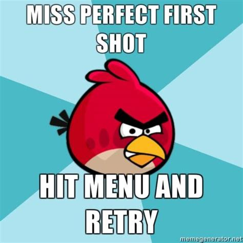 Angry Bird Meme - top 20 most funny angry birds memes and jokes quotes