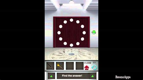 100 floors free level 22 100 floors level 77 walkthrough 100 floors solution
