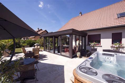 la veranda v 233 randa spa abri de piscine haut tryba le v 233 randier