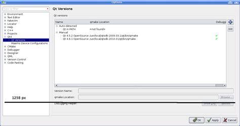qt designer layout in splitter qtcreatorbug 936 splitter in tools gt options menu qt