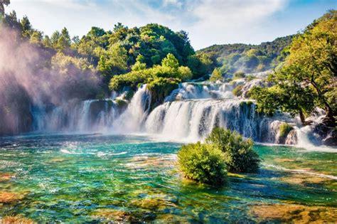 krka waterfalls   split trogir skradinski buk