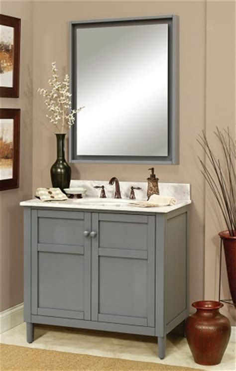 Natural Bathroom Ideas Gray Shaker Style Bathroom Vanities A Bathroom Trend