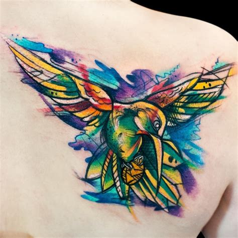 80 best watercolor hummingbird tattoo meaning and