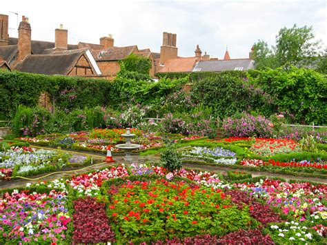 The Garden Place by The Gardens Of New Place Stratford Upon Avon Lisby Flickr