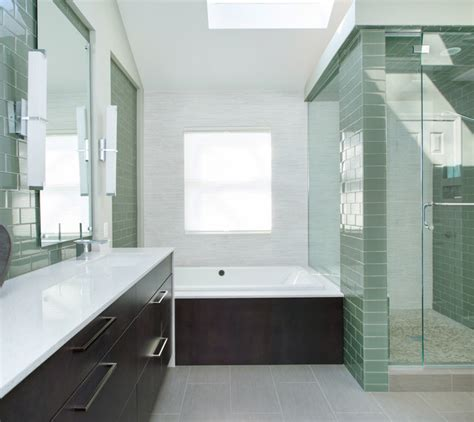 Lenexa Ks Bathroom Remodel Contemporary Bathroom Kansas City By Kitchen