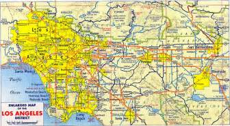 printable map los angeles indiana map