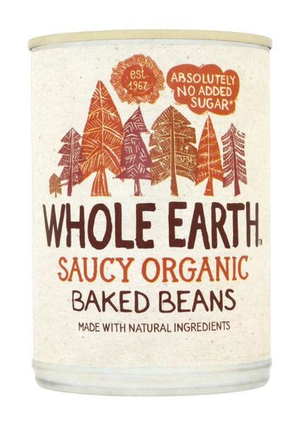 Sugar Detox No Beans by Organic Saucy Baked Beans In 420g Tin From Whole Earth