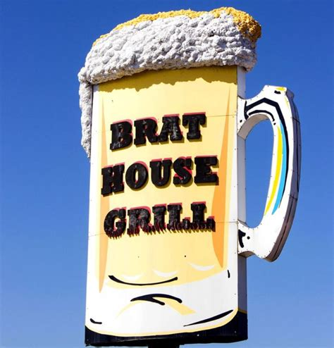 brat house grill 10 wisconsin restaurants with the best brats