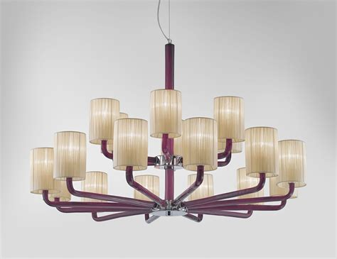 Can Light Chandelier Nella Vetrina Can Can 2120 9 Light Italian Designer Chandelier In White
