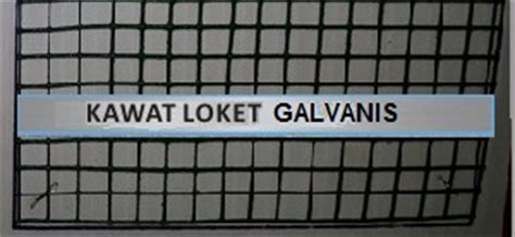 Ukuran Kawat Loket Pvc Hijau kawat loket welded wiremesh pt abadi metal utama