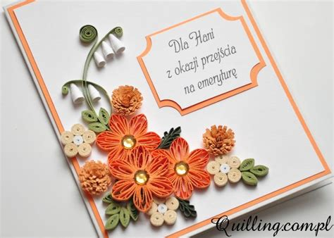 paper quilling greeting card tutorial 123 best quilling com pl images on pinterest quilling