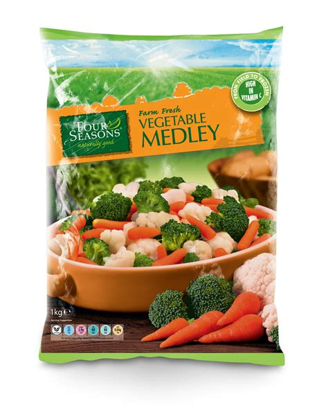 vegetables medley frozen vegetable medley