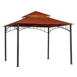 Canopy Tops For Gazebos by Madaga 10 X 10 Replacement Gazebo Canopy Red Target