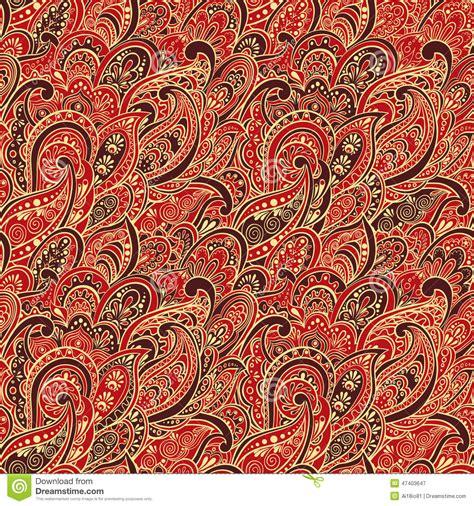 seamless pattern indian paisley seamless pattern stock photo image 47403647
