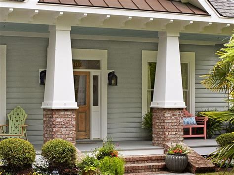 country curb appeal 25 best ideas about craftsman columns on