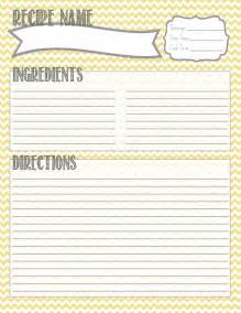 free printable recipe template 25 best ideas about printable recipe cards on