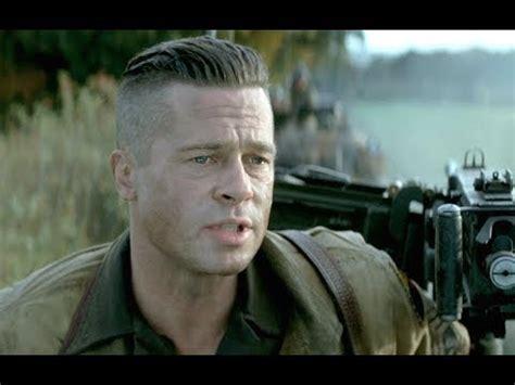 army haircut fury fury official trailer 2014 brad pitt shia labeouf hd