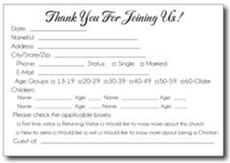 church attendance card template pin church attendance cards press inc on