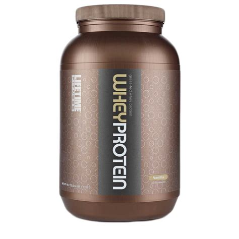 r protein powder time grass fed whey protein vanilla