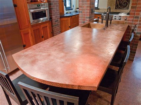 copper bar top cost copper countertops images frompo