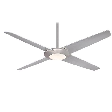 62 inch ceiling fan minka aire f739l bn pancake xi 1 led light 62 inch ceiling