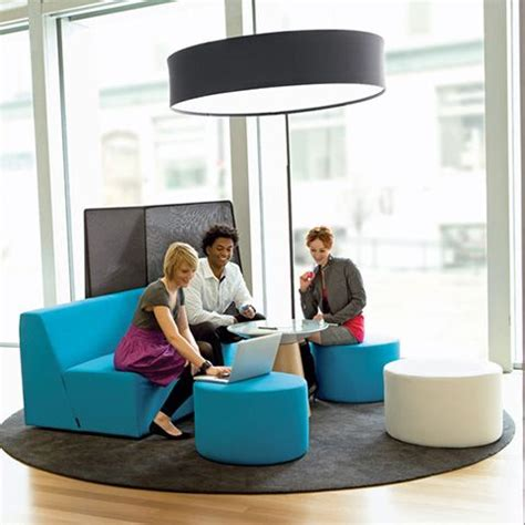 yellow alight ottoman modern office furniture