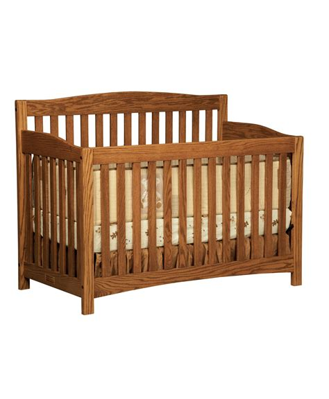 Convert Crib with Convert Crib Monterey Conversion Crib Amish Direct Furniture Mission Conversion Crib Amish