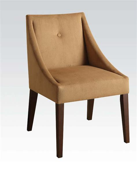 Brown Accent Chair Accent Chair In Brown Fabric By Acme Furniture Ac59155