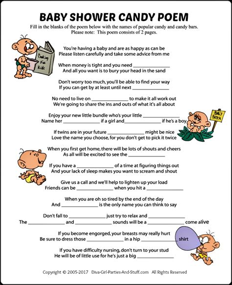 Baby Shower Poems by Baby Shower Poem