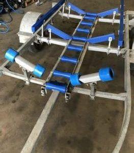 boat trailer roller rack boat roller ladder rack aluminium boat trailer roller kit