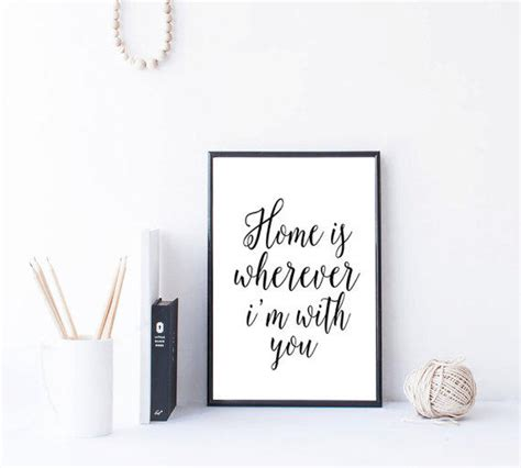 printable quot strive for from mixarthouse on etsy home is wherever i m with you from mixarthouse on etsy