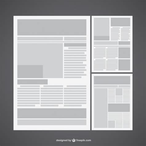 layout de jornal online layout de jornal vetor baixar vetores gr 225 tis