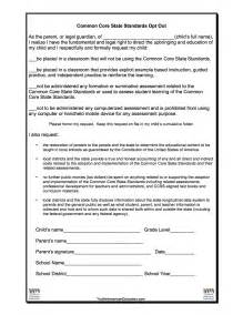 opt in form templates ccss opt out form stop common in washington state