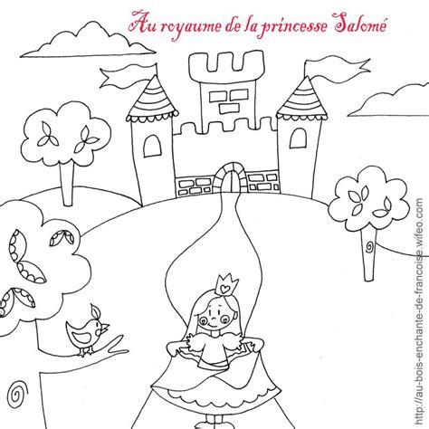 Coloriage Princesse Et Chateau Coloriage De Chevalier