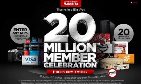 Coke Rewards Sweepstakes - saving with brandi 2013 03 10