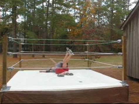 backyard wrestling kids etw backyard wrestling welcome to my world youtube